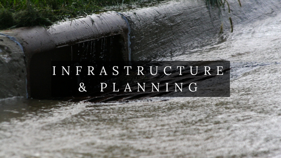 Storm water drain and infrastructure