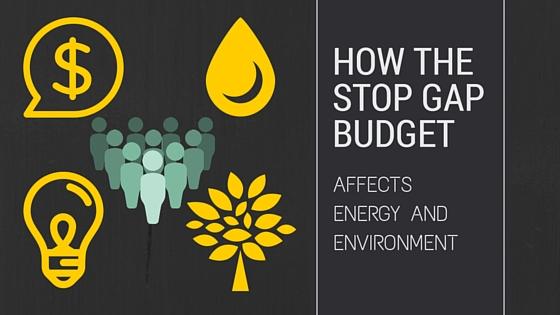 Stop Gap Budget