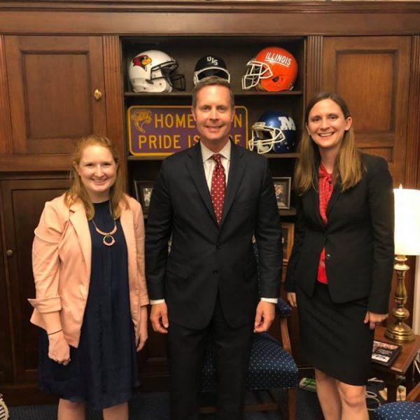 IEC with Congressman Davis