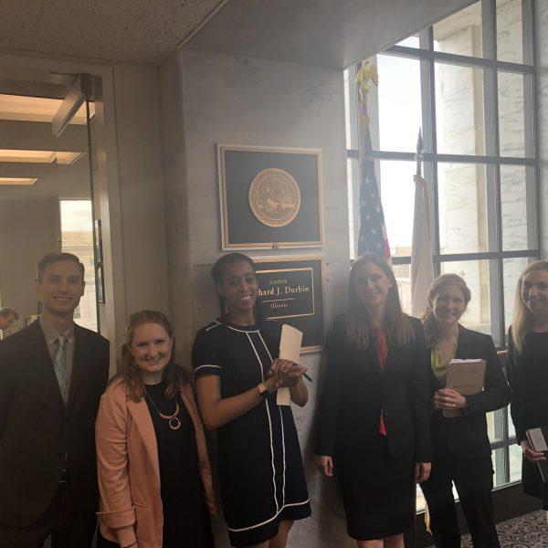 IEC with Senator Durbin's Staff