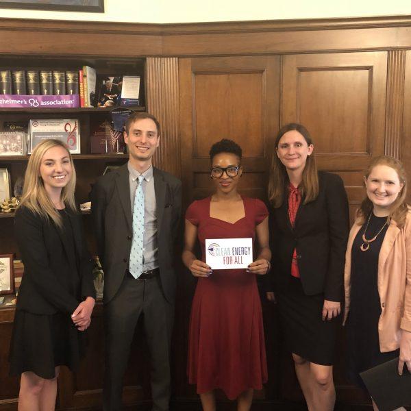 IEC with Congresswoman Kelly's Staff