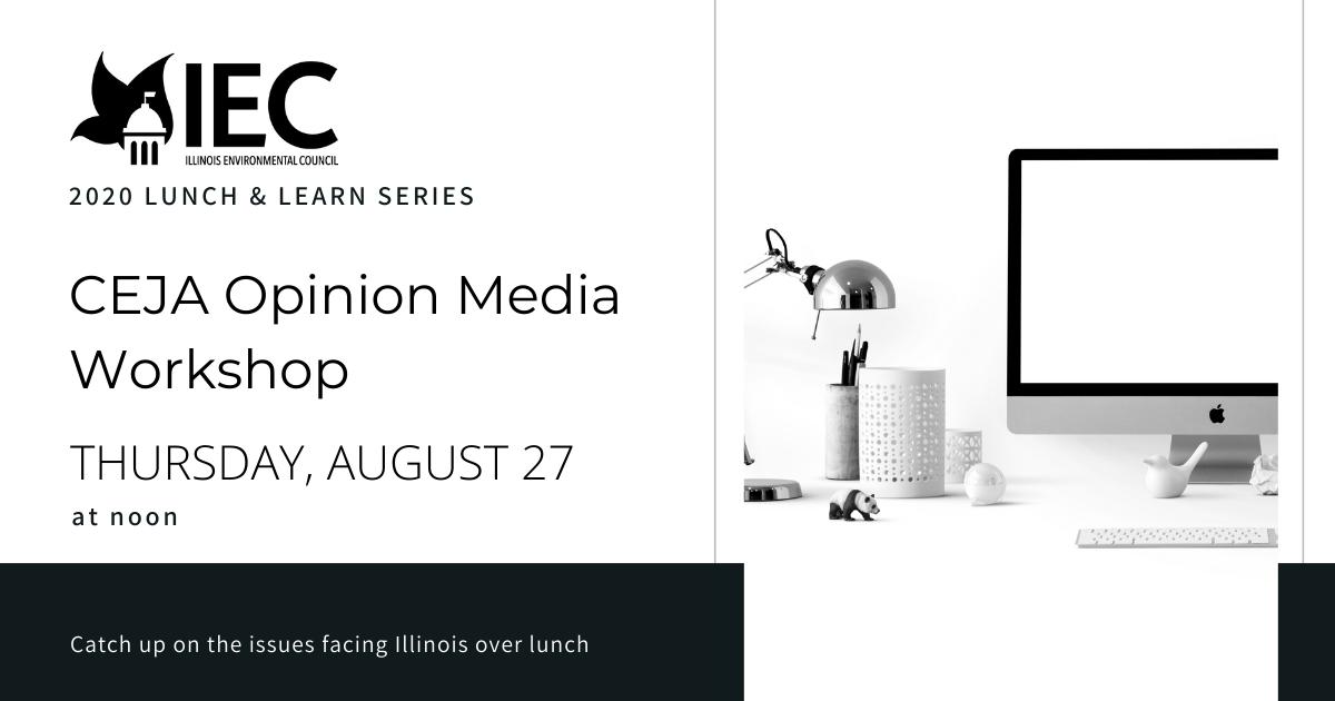 CEJA opinion media workshop graphic