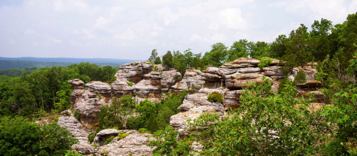 Garden of the Gods Shawnee National Forest