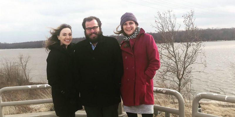 Colleen, Eliot and Jen at NGRREC