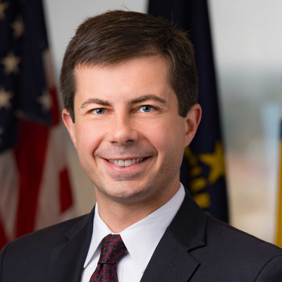 Pete Buttigieg headshot